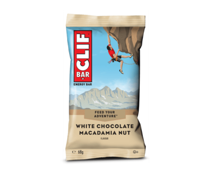 Clif bar witte chocolade macadamia