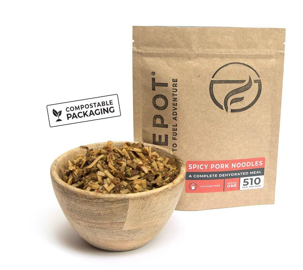 review firepot pittige noodles verpakking