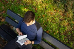 Lezen langs het pad