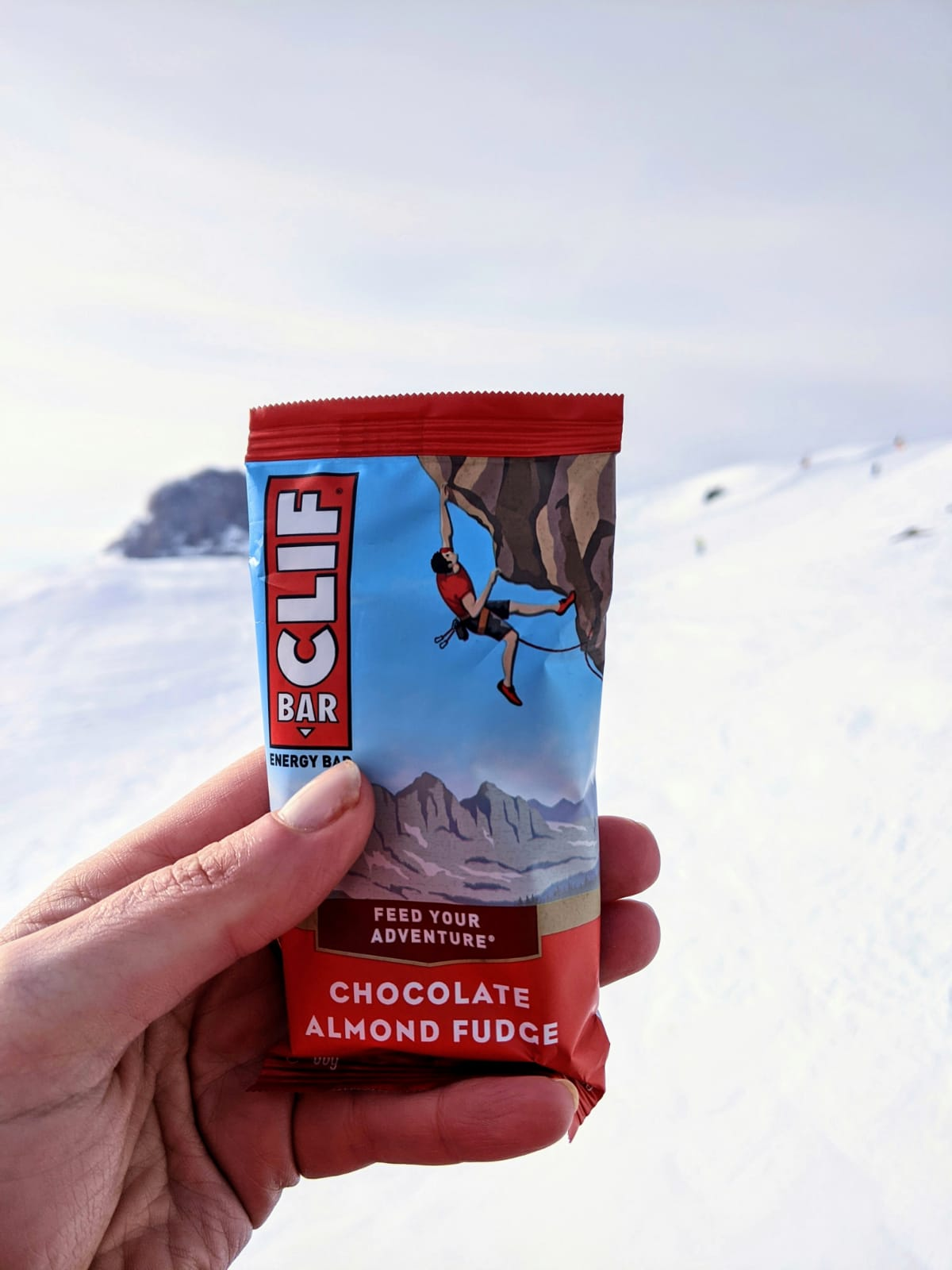 Review Clif bar chocolade almond fudge